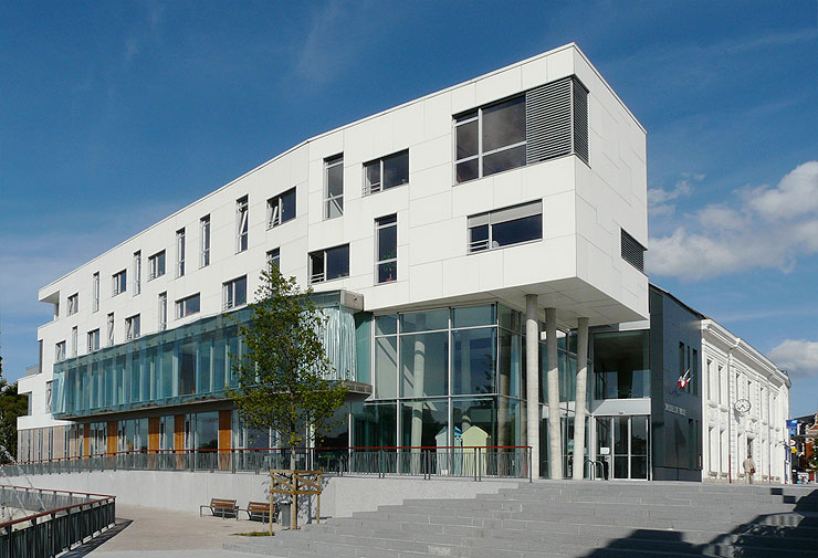 Tandem architecture et urbanisme nord pas de calais for Piscine d haubourdin