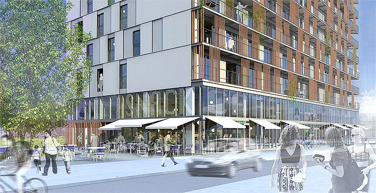 Architectes Lille rés. «architectes», lille | tandem + , architecture et urbanisme